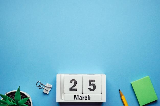 25 venticinquesimo giorno del mese di primavera del calendario marzo
