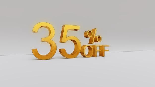35 percento di sconto sul rendering 3d