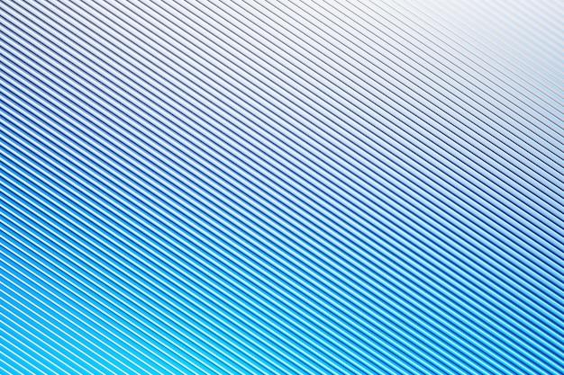 Modello rosa illustrazione 3d in stile ornamentale geometrico da strisce diagonali blu.
