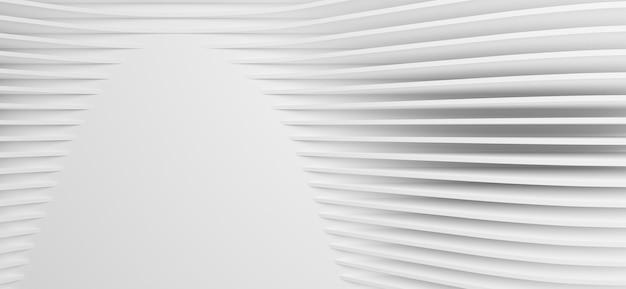 Illustrazione 3d texture astratta bianca. lo stile artistico della carta può essere utilizzato nella progettazione di copertine, sfondi di siti web o pubblicità.