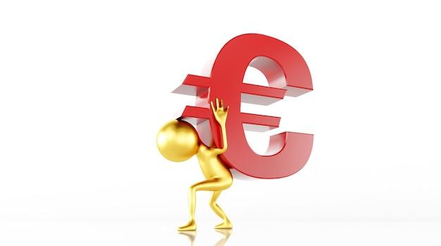 Il rendering del modello 3d aumenta il valore della valuta