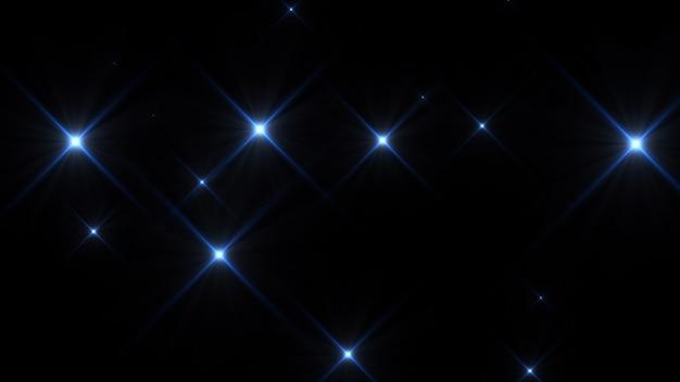 Rendering 3d fotocamera lampeggia su sfondo nero