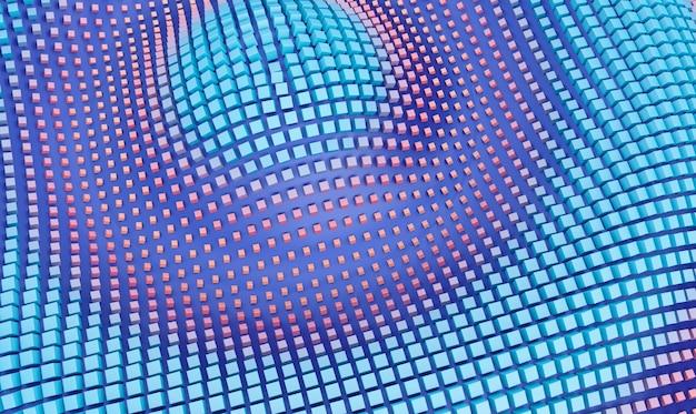 Rendering 3d di un design di sfondo geometrico sfumato, design di sfondo geometrico moderno