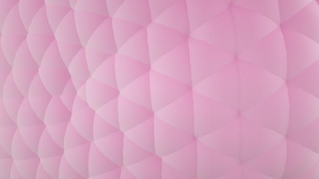 Rendering 3d sfondo astratto modello trama rosa