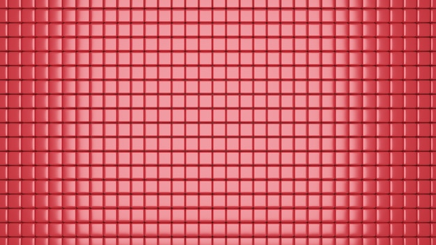 3d ha reso la trama di cubi a diverse altezze, sfondo astratto