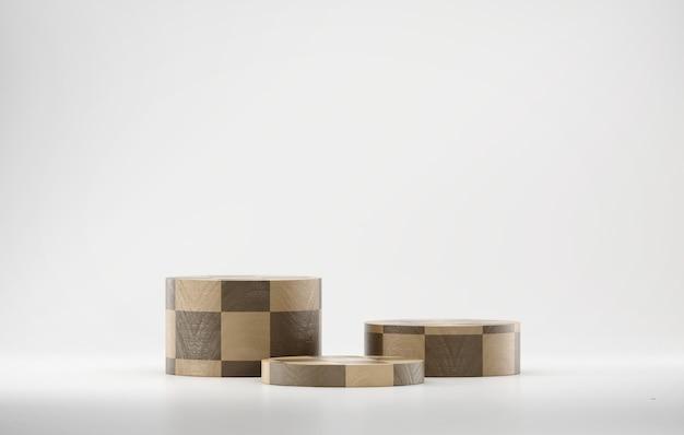 Contesto di presentazione del prodotto del podio della piattaforma astratta di rendering 3d