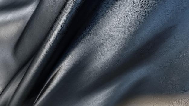 Rendering 3d di trama del tessuto nero