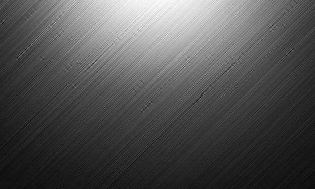 Rendering 3d. struttura in metallo nero. sfondo scuro