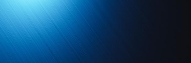 Rendering 3d struttura in metallo blu sfondo scuro