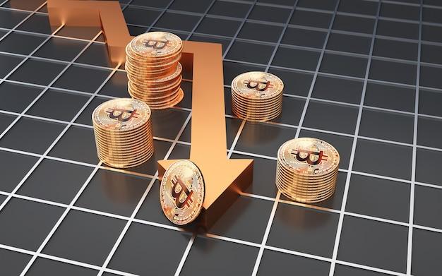 Futures del mercato azionario di business insider rendering 3d