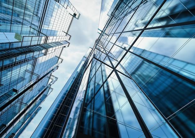 3d rendering grattacielo edificio per uffici