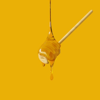 Rappresentazione 3d della sgocciolatura del miele
