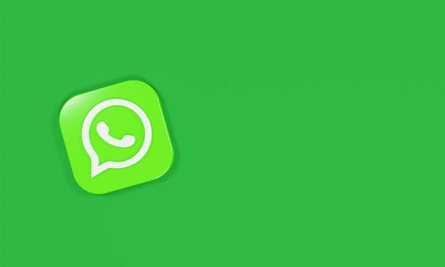 Logo icona rendering 3d che cosa è app?