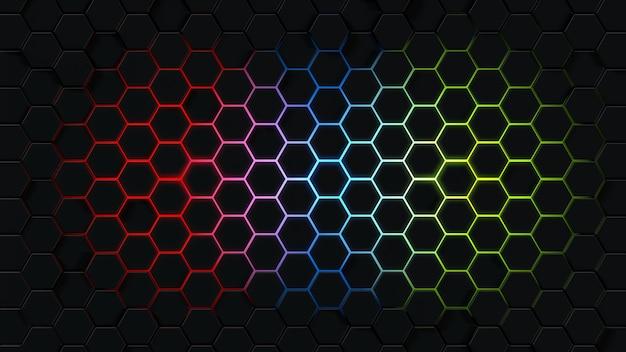 Rendering 3d di forme poligonali
