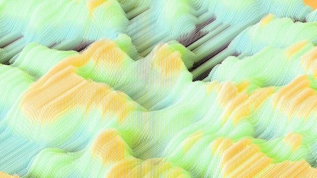 Rendering 3d di un rendering minimalismo composizione realistica