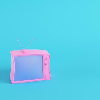 Tv in stile retrò rendering 3d