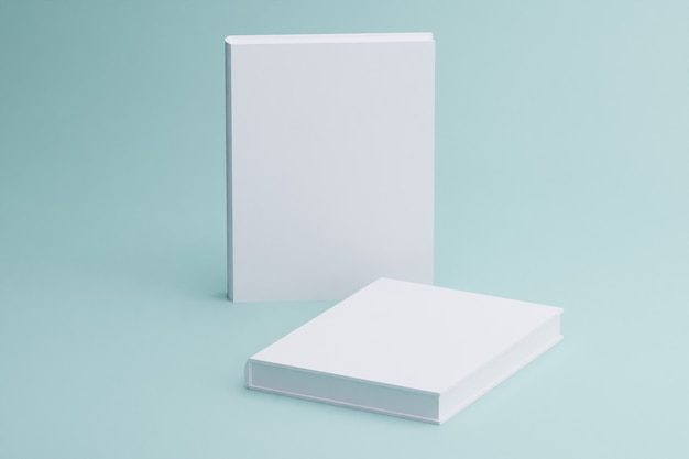 Rendering 3d di opuscoli bianchi