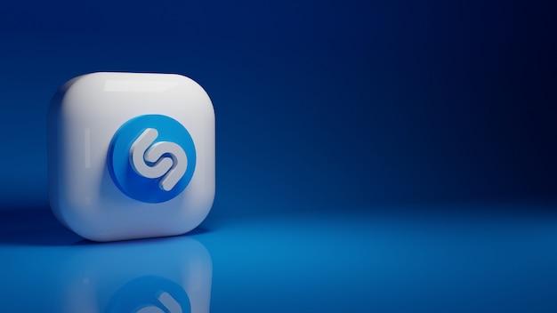 Logo dell'applicazione shazam 3d