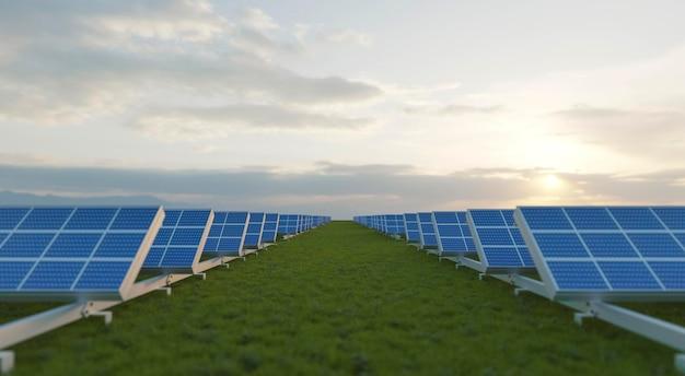 Progetto pannelli solari 3d per il risparmio energetico