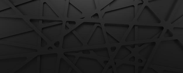 Fondo geometrico di struttura 3d