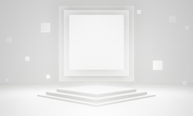 Fase geometrica bianca 3d