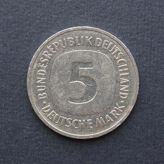 Moneta da 5 marchi, germania