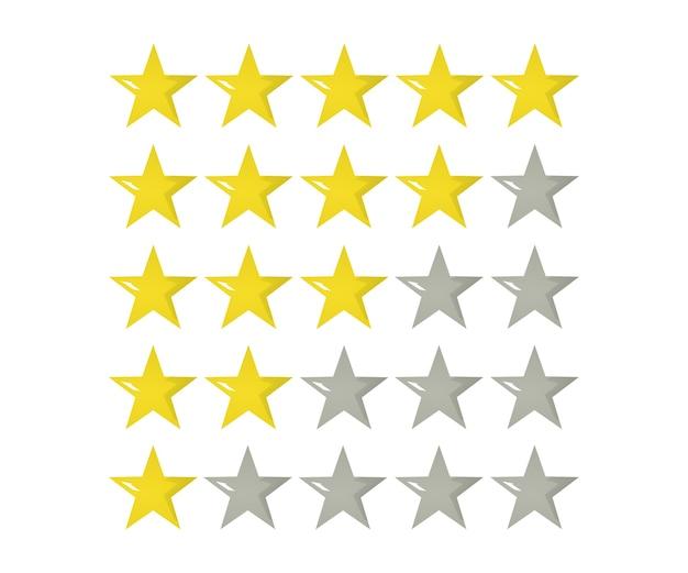 5 stelle icona 3d illustrazione. distintivo isolato per sito web o app - infografica stock.