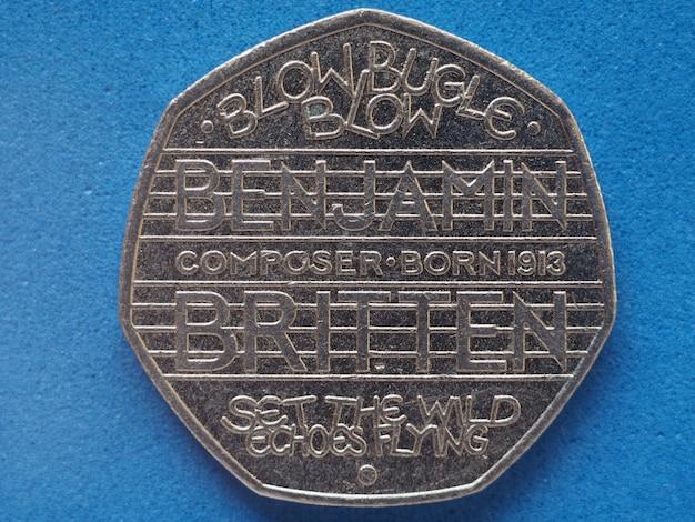 Moneta da 50 pence, regno unito