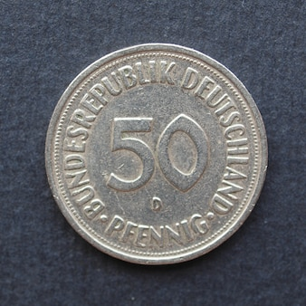 Moneta da 50 pfennings, germania