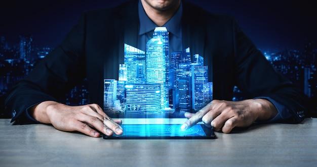 Tecnologia di comunicazione 5g rete internet wireless