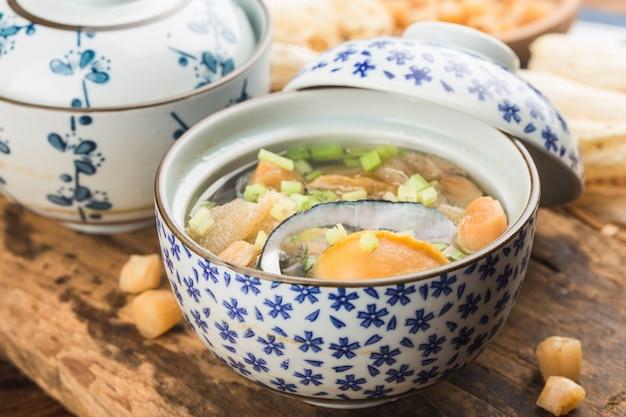 Zuppa di abalone