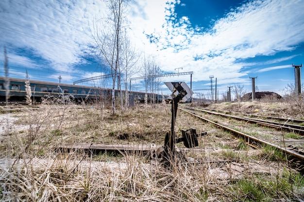 Stazione ferroviaria abbandonata
