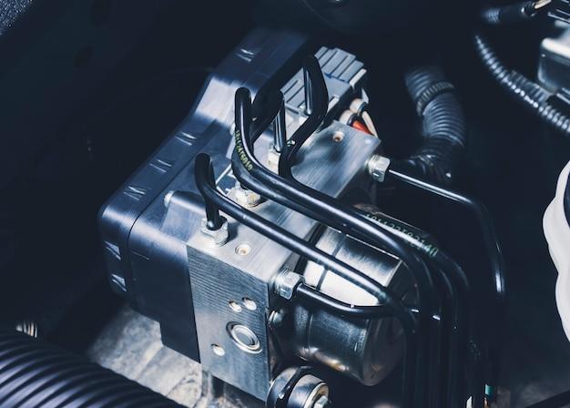 Scatola di controllo del modulo dell'unità del sistema di frenatura antibloccaggio abs e tubi del liquido dei freni del sistema di frenatura dell'auto