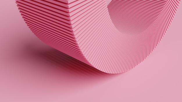 Rendering 3d astratto, design futuristico, sfondo tecnologia moderna