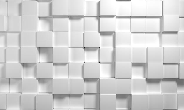 Rendering 3d astratto, sfondo geometrico moderno, design grafico