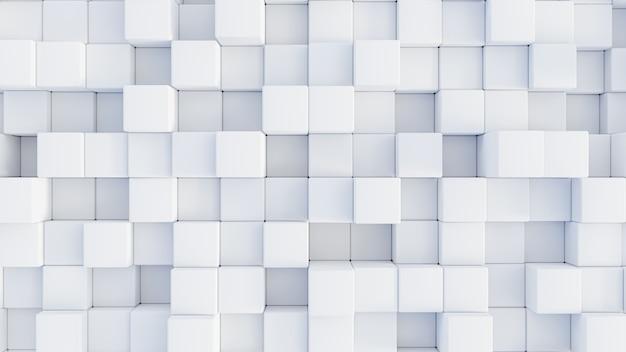 Cubi di rendering 3d astratti