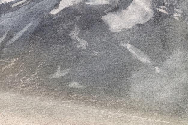 Colore nero e grigio chiaro del fondo di astrattismo. quadro multicolore su tela.