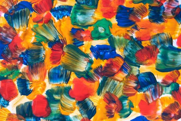 Colori blu e rossi della priorità bassa di arte astratta