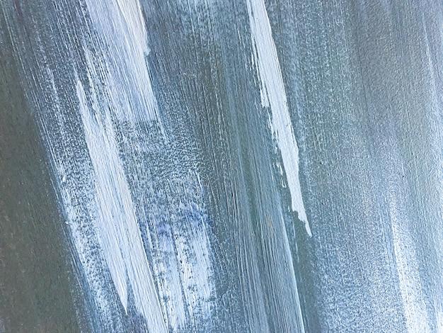 Colori blu e bianchi del fondo di arte astratta. dipinto ad acquerello su tela con sfumatura grigia