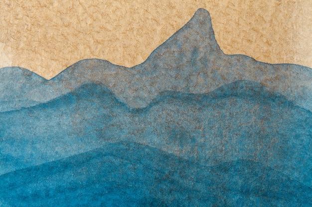Colore di sfondo di arte astratta su tela con gradiente