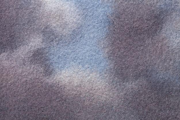 Colori di sfondo azzurro e grigio scuro di arte astratta pittura ad acquerello su tela