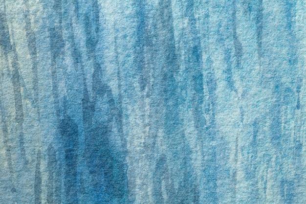 Arte astratta sfondo azzurro e colori turchesi.
