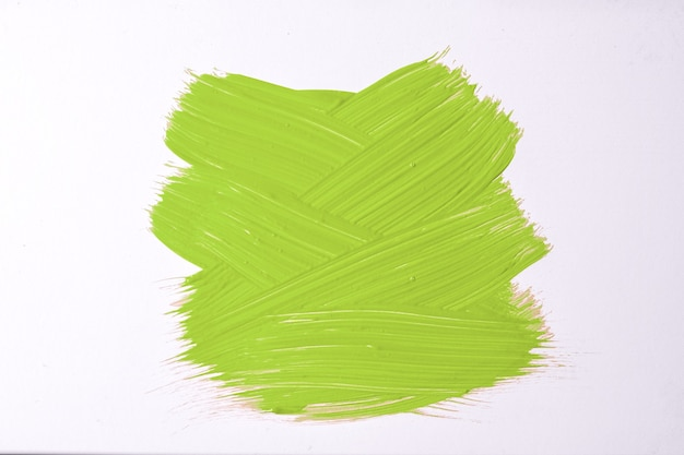Colori verde chiaro e bianchi del fondo di arte astratta. dipinto ad acquerello su tela con pennellate d'oliva e schizzi. opera in acrilico su carta con campione. sfondo di trama.