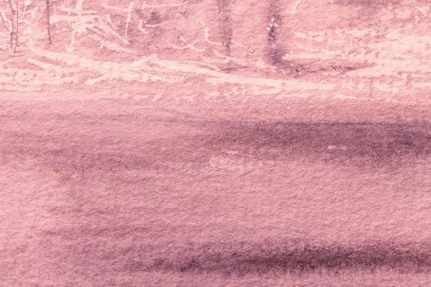 Colore rosso-chiaro del fondo di astrattismo. rosa dipinto su tela. frammento di opere d'arte rosa. trama di sfondo.