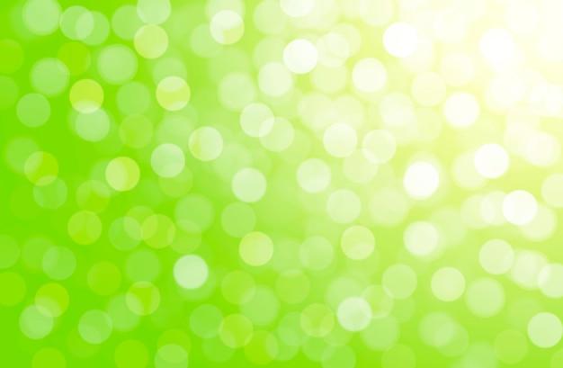 Sfondo astratto bokeh sfocato sfondo naturale verde