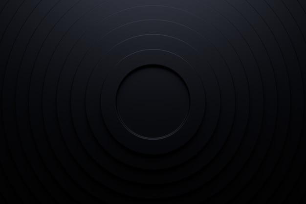 Sfondo astratto del cerchio