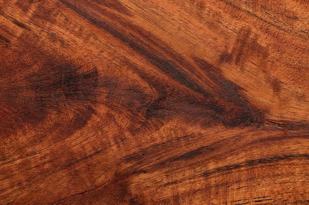 Sfondo astratto di superficie in legno marrone scuro. vista dall'alto del primo piano per le opere d'arte.