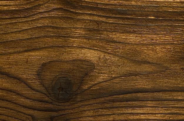 Fondo astratto della vista superiore del primo piano del bordo di legno scuro