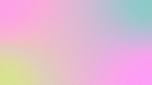 Pendenza olografica del fondo astratto rappresentazione futuristica 3d Foto Premium