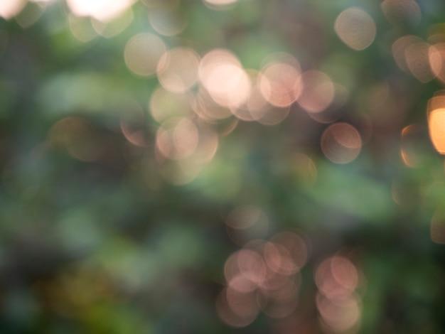 Bokeh astratto delle luci del fondo